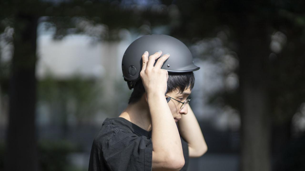 かわいいシェイプで盗難も防止できる…こんな自転車ヘルメットを求めてた!