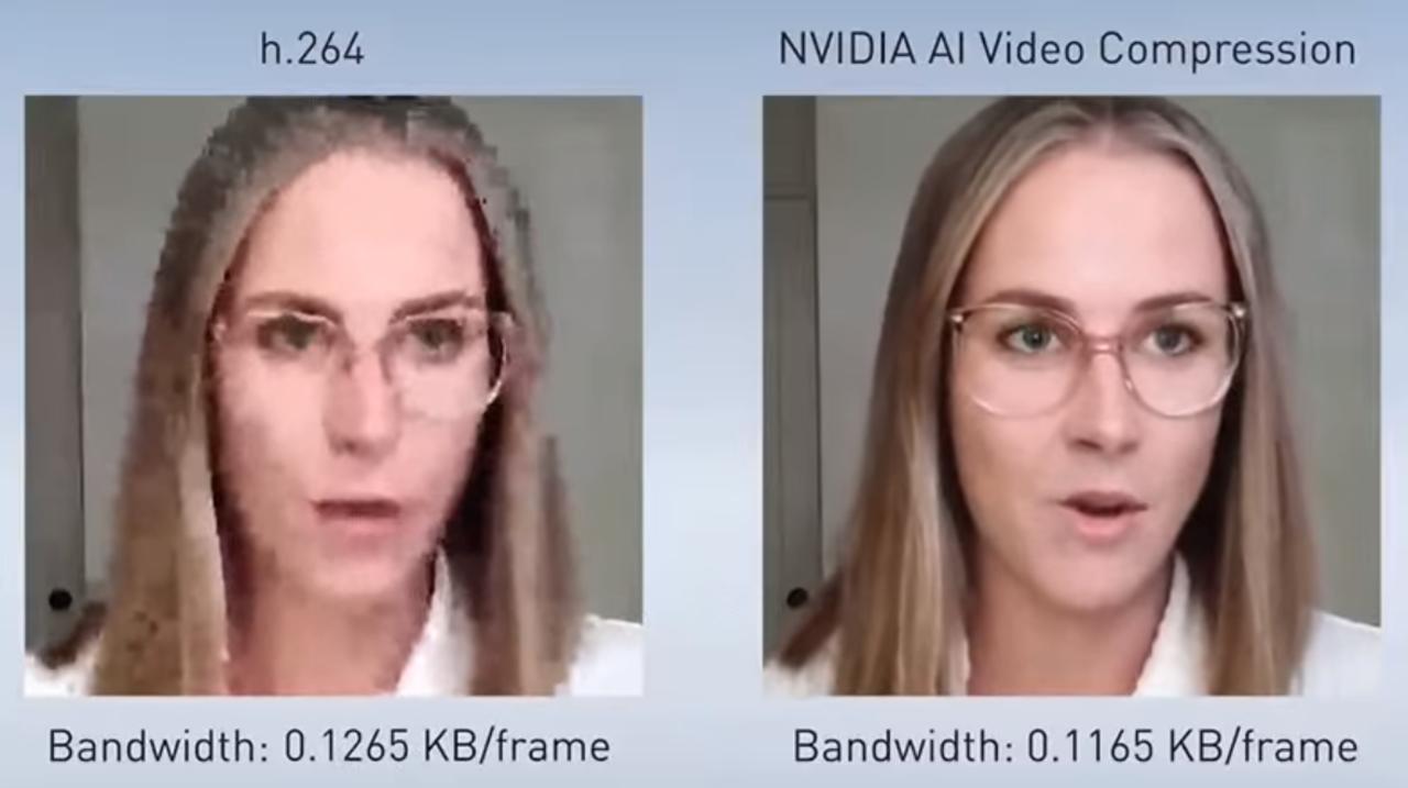 ビデオ会議の顔がクッキリ! 顔ごとカメラにぐるっ!NVidiaのAI動画圧縮が未来
