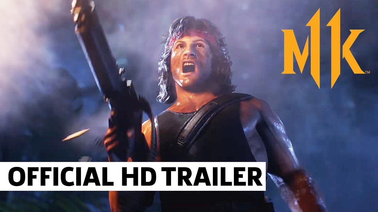 もはやハリウッド版スマブラ!?ランボーが格闘ゲーム『モータル・コンバット』最新作に参戦