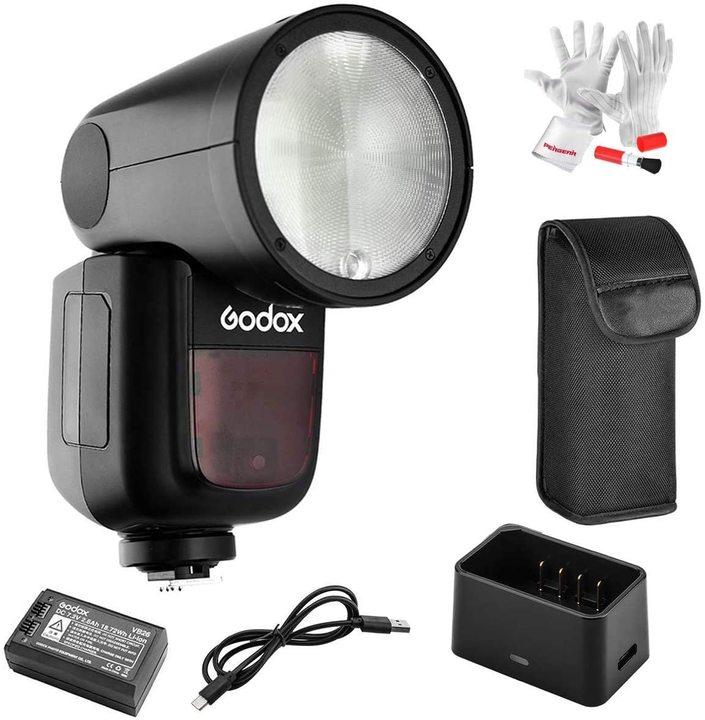 【Amazonプライムデー】ワンランク上のストロボをお考えの方に。「Godox V1」が壮絶お買い得になってる!