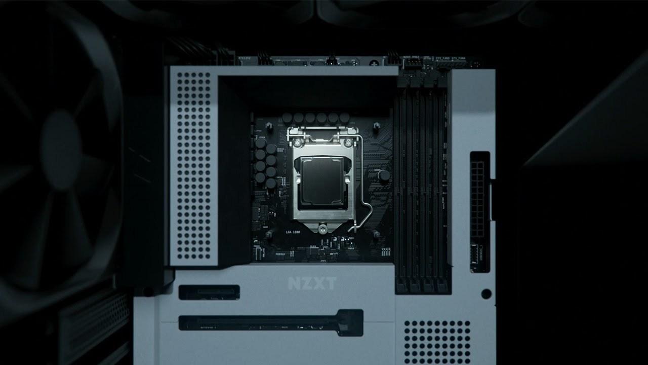 このままむき出しで使いたい超かっこいいマザーボード「N7 Z490」