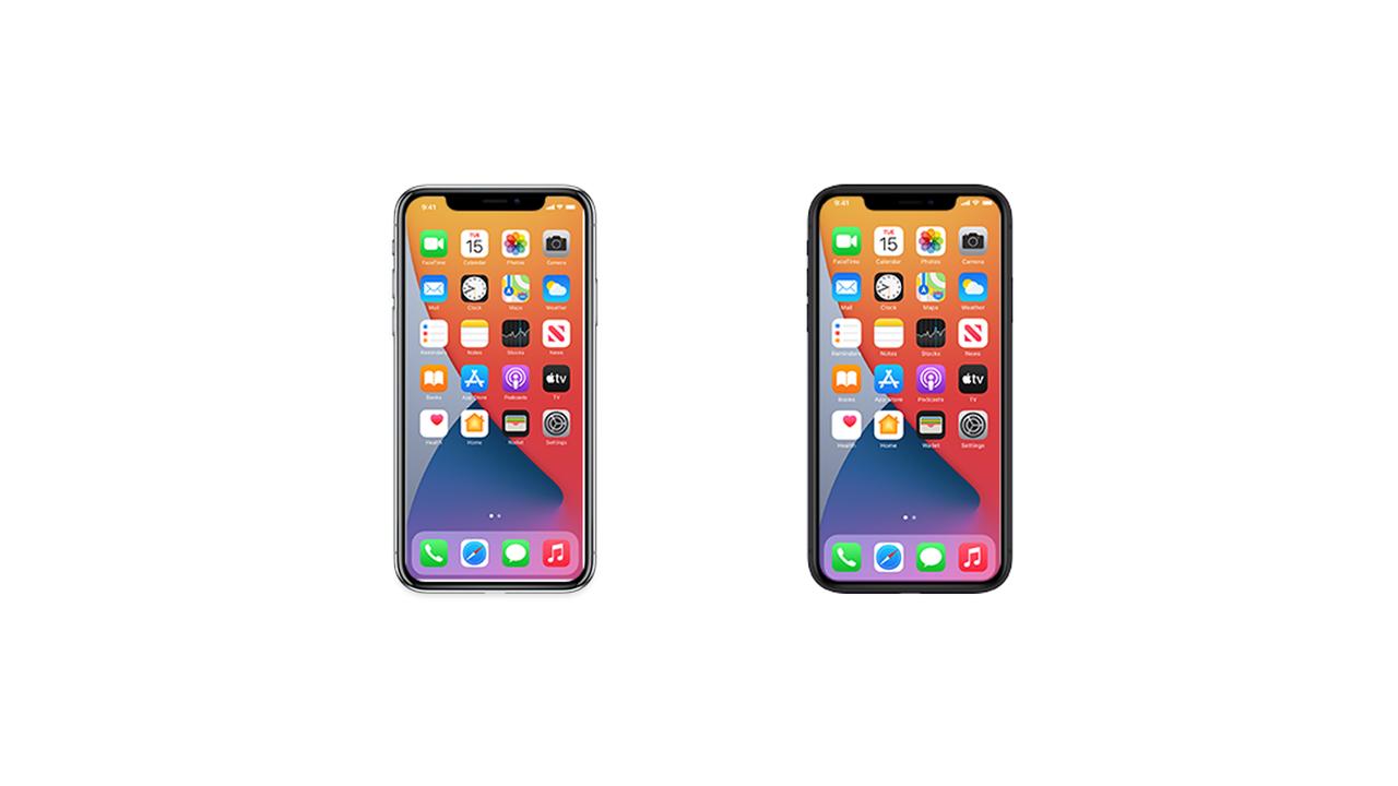 目をこらして見てごらん、多分これがiPhone 12の公式アイコン画像