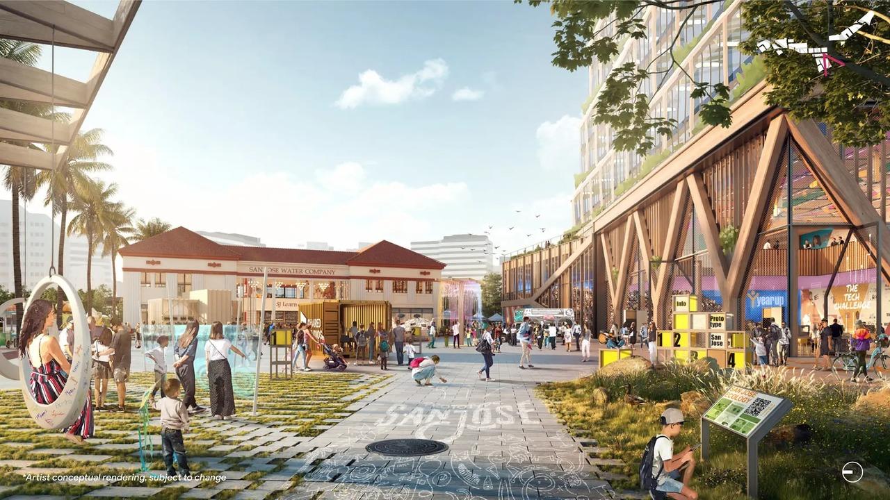サンノゼにグーグルタウン建設を計画中。夢の生活がおくれそう!