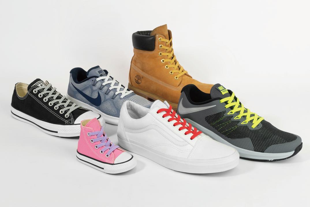 スニーカーやブーツの脱ぎ履きが楽になる! ほどけない靴ヒモ「Xpand」が登場