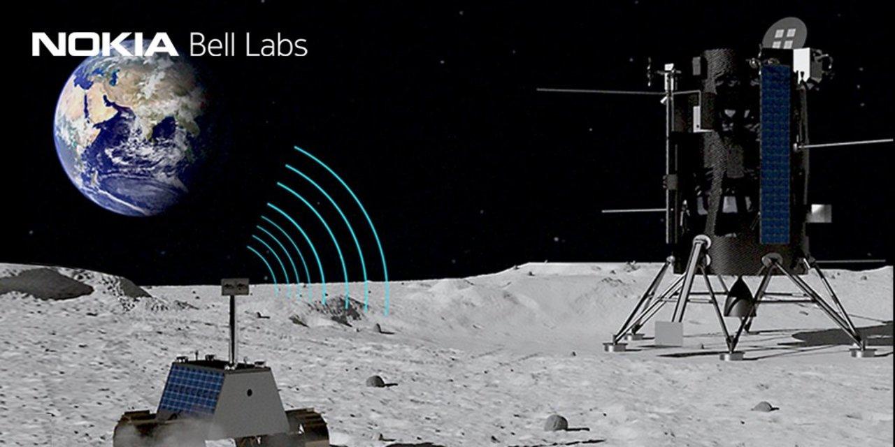 ノキアが月面でLTE/4G通信を行う契約をゲット