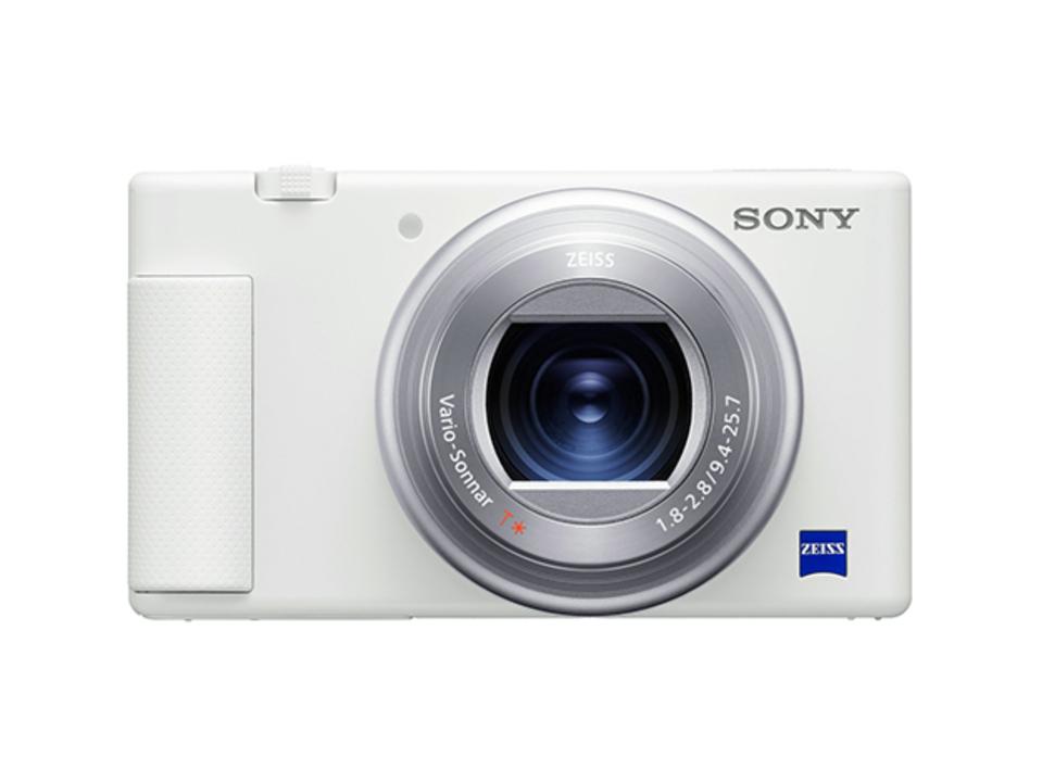白いだけで印象ぜんぜん違います! ソニーのVlogカメラ「ZV-1」に新色ホワイトが登場