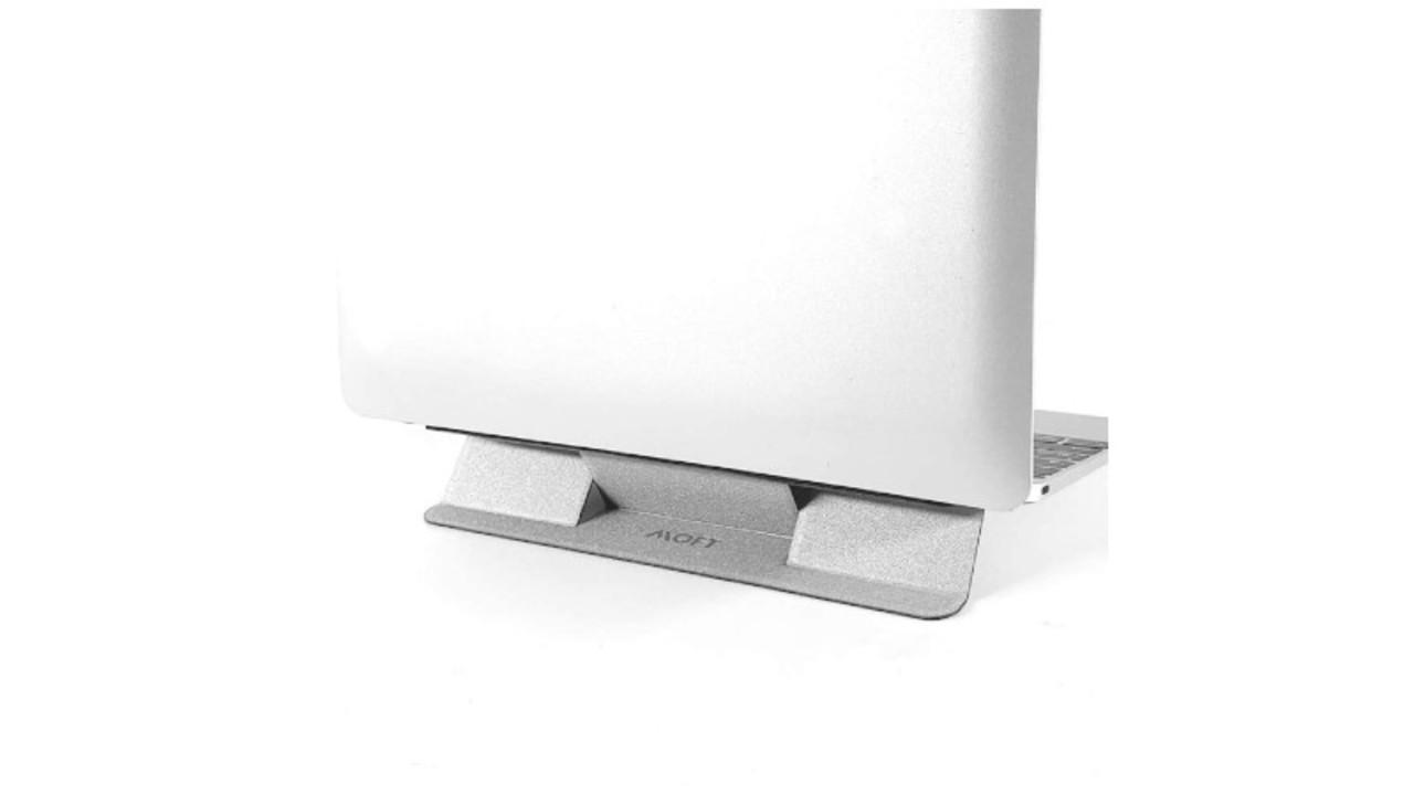 薄く機能的、「折り紙」みたいなMOFT のノートPCスタンド