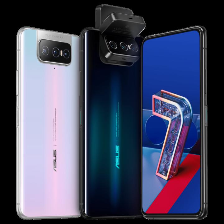 メインカメラがくるり。3眼カメラで自撮りができる「ZenFone 7」