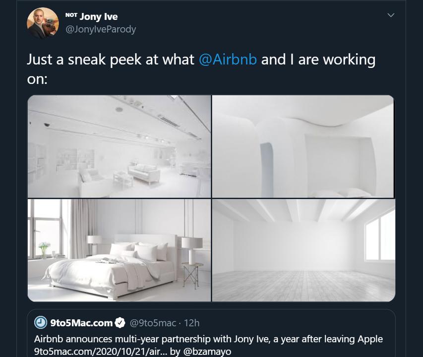 ジョニー・アイヴのAirbnbはこうなる?