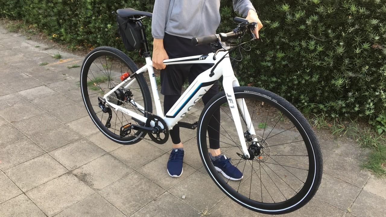 e-Bike購入記。115kmも走れるバッテリーが搭載されてるのに、見た目もシュッとしてて最高!