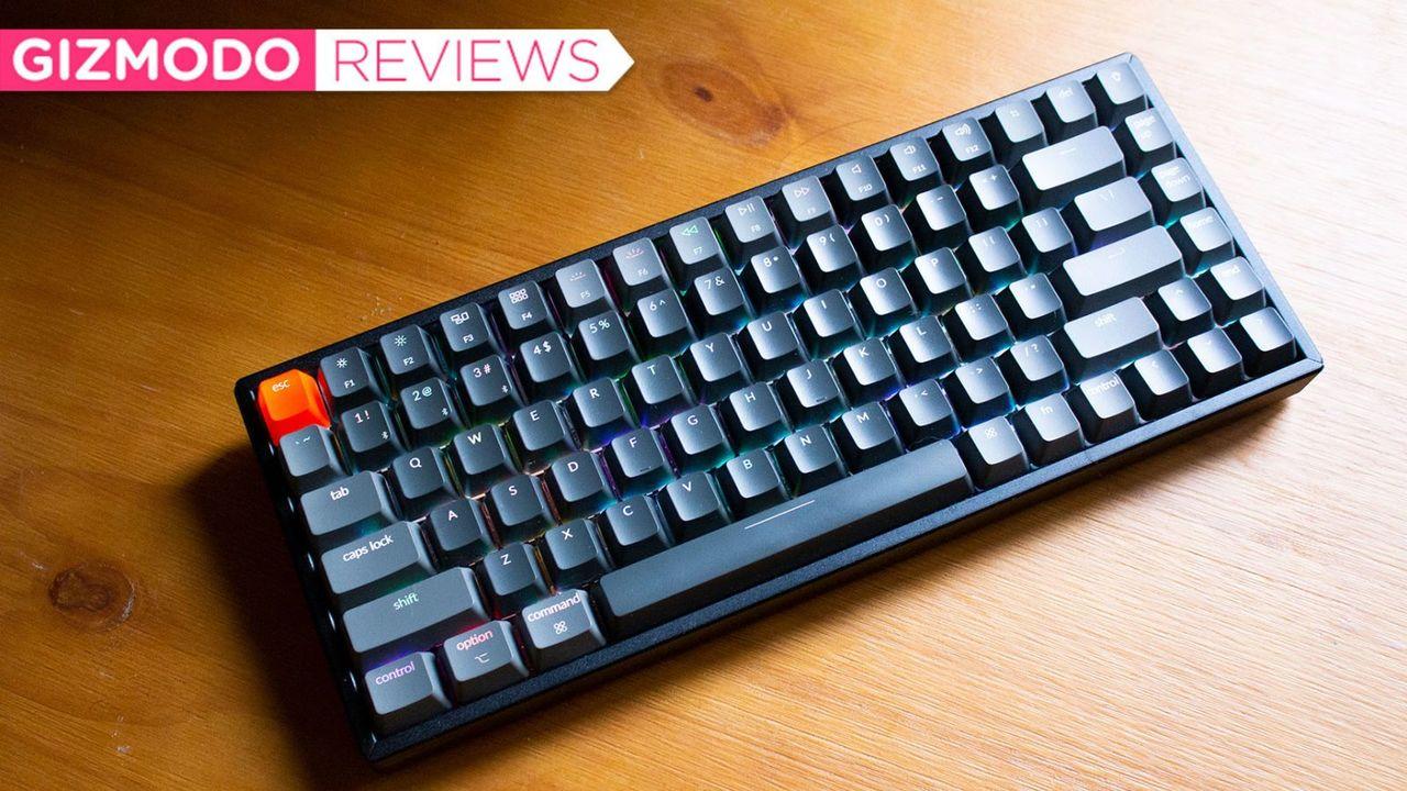 Keychron K2(V2)レビュー:Macで使える、お手頃ワイヤレスメカニカルキーボード