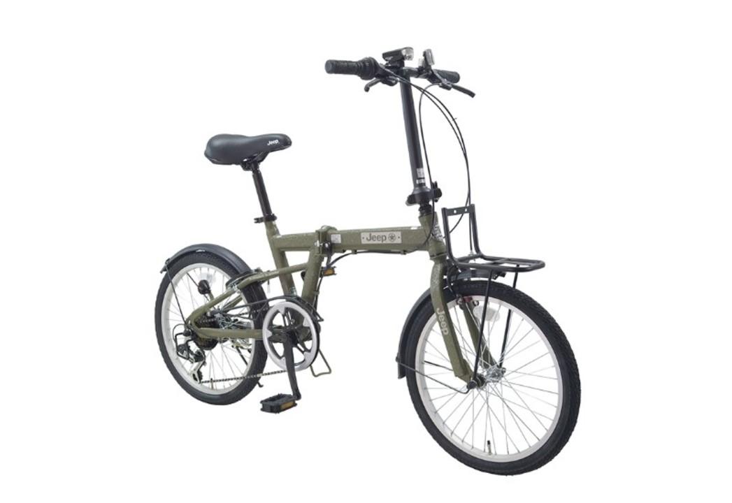 Jeepブランドの人気折りたたみ自転車がリニューアル。こだわりのシワ加工塗装で3万円なのもイイね