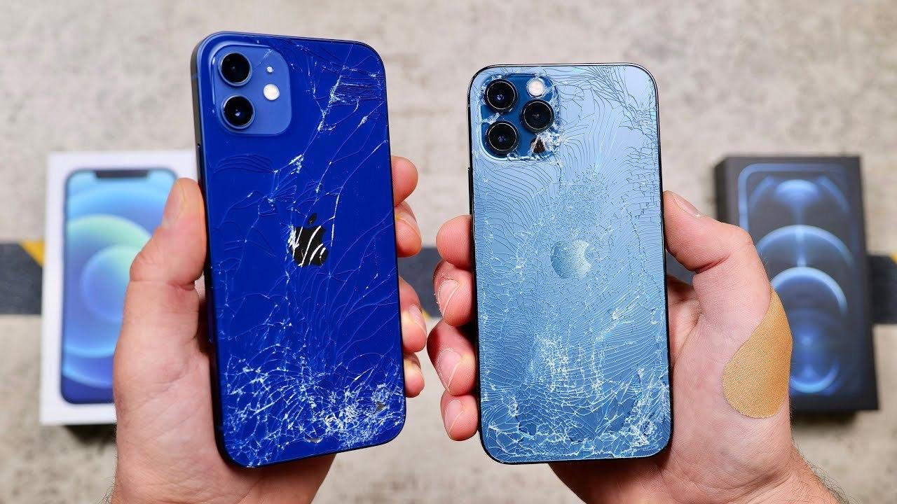 iPhone 12のセラミック・シールド、やっぱり強かった