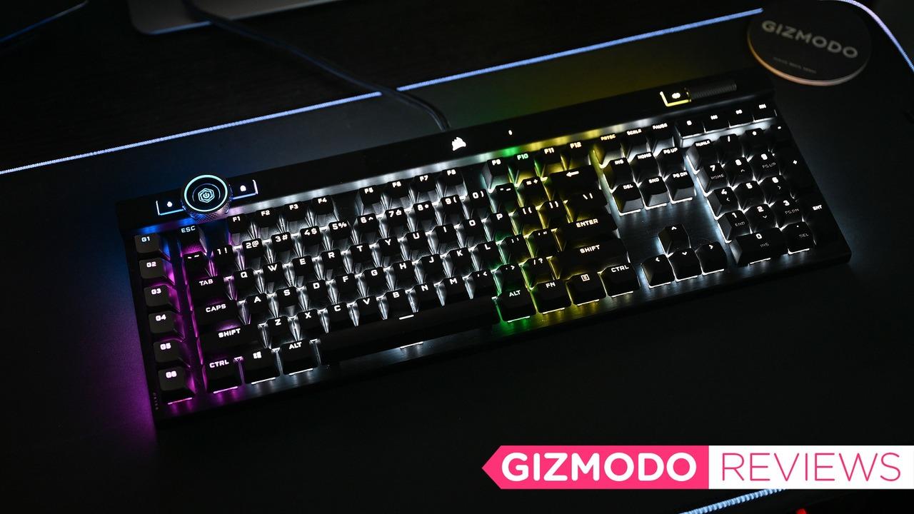 ゲーミングキーボードCorsair K100 RGBレビュー:魅せられる光の美しさ&キーの鋭さ