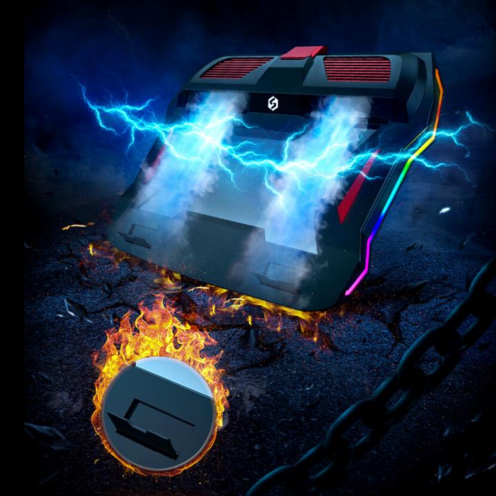 「ゲーミングPCクーラー」があればいつものパソコンが光る、冷える!