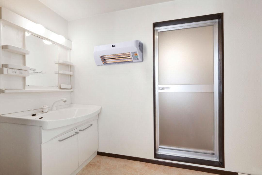 おばあちゃん家に贈りたい。脱衣所が暖かくなる、壁掛けの暖房機