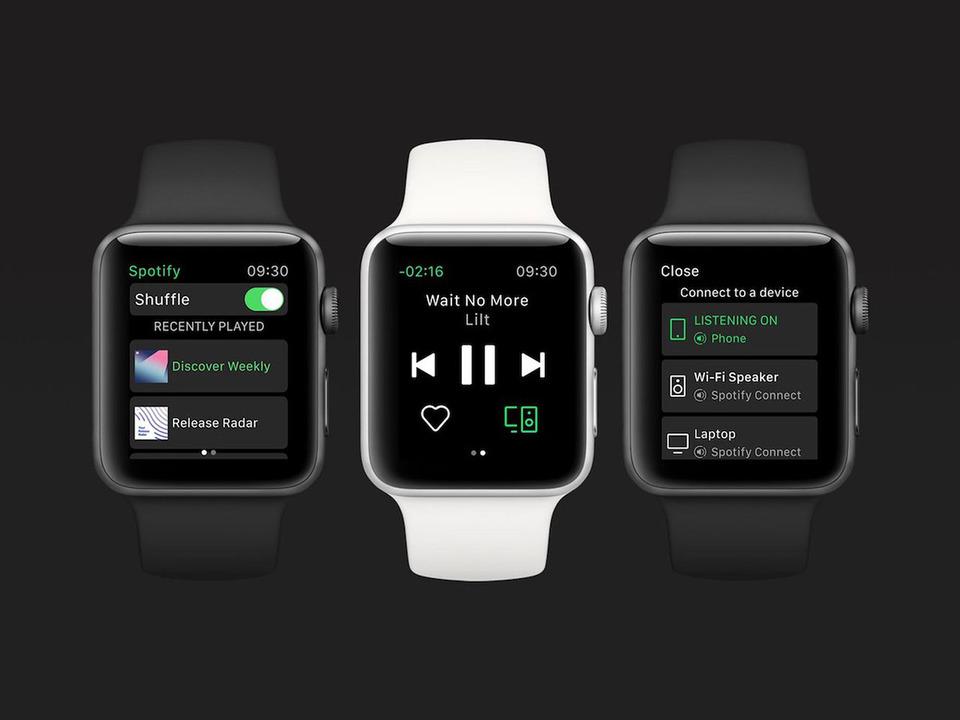Apple WatchでよーやくSpotifyがストリーミング再生できるように
