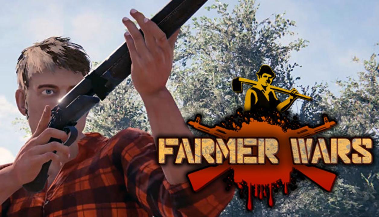 農家の敵は農家だ! 自分の畑を銃火器で護る農場経営FPS『Farmer Wars』