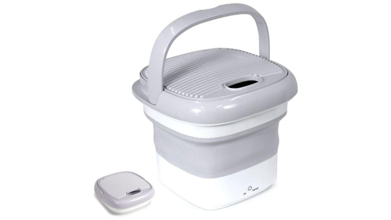 マスクや汚れものの別洗いに便利、高機能なポータブル洗濯機2選