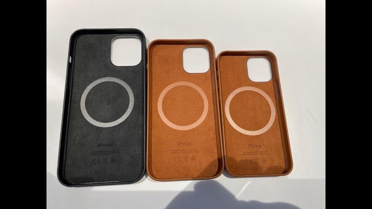 iPhone 12用のMagSafeレザーケースのハンズオンが登場