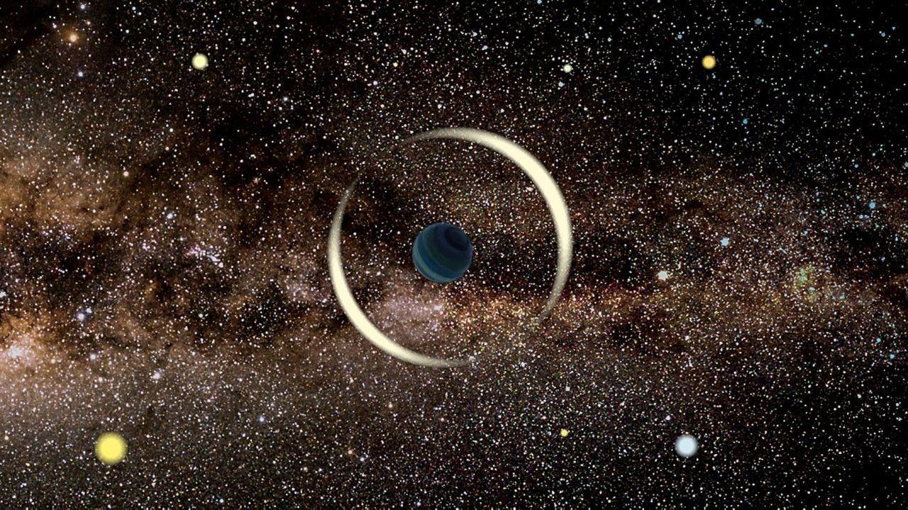 重力レンズ効果で最小の「はぐれ惑星」を発見