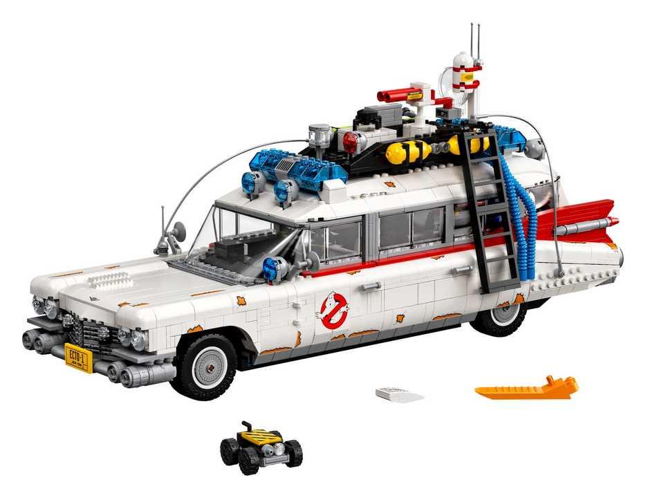 巨大でギミック満載! LEGOの新作は『ゴーストバスターズ』で活躍するクルマのキット