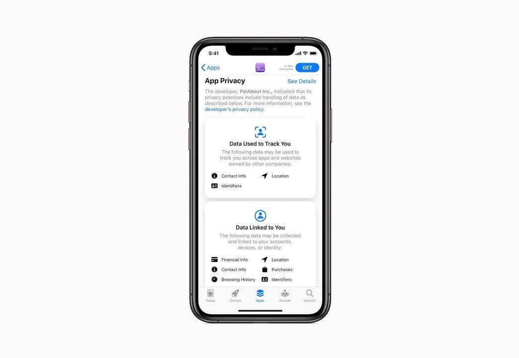 12月8日からApp Storeのプライバシー表示が厳格に