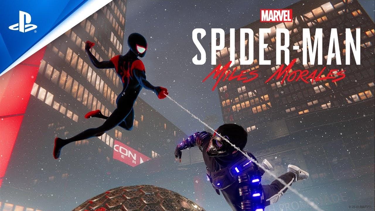 PS5『スパイダーマン:マイルズ・モラレス』に登場する『スパイダーバース』版スキン、コマレベルで映画に準拠する徹底ぶり