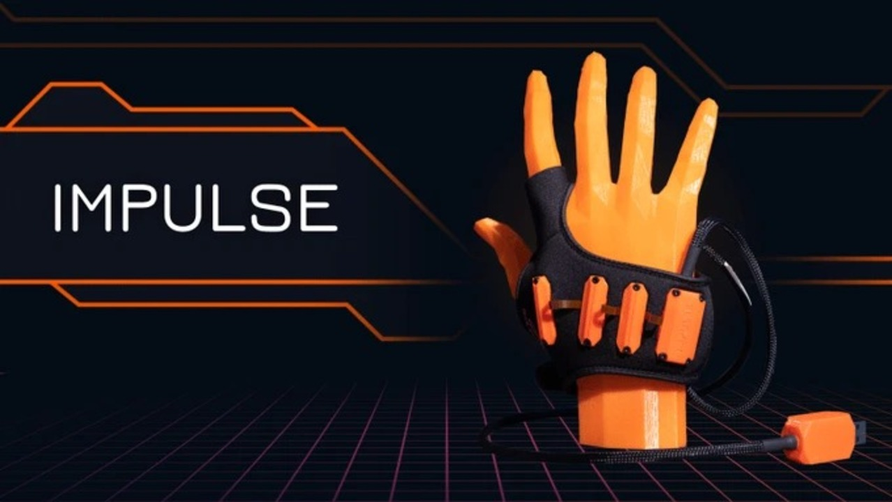 手の筋電を検知して「指よりも先に」クリック入力をしてしまうゲーミング手袋