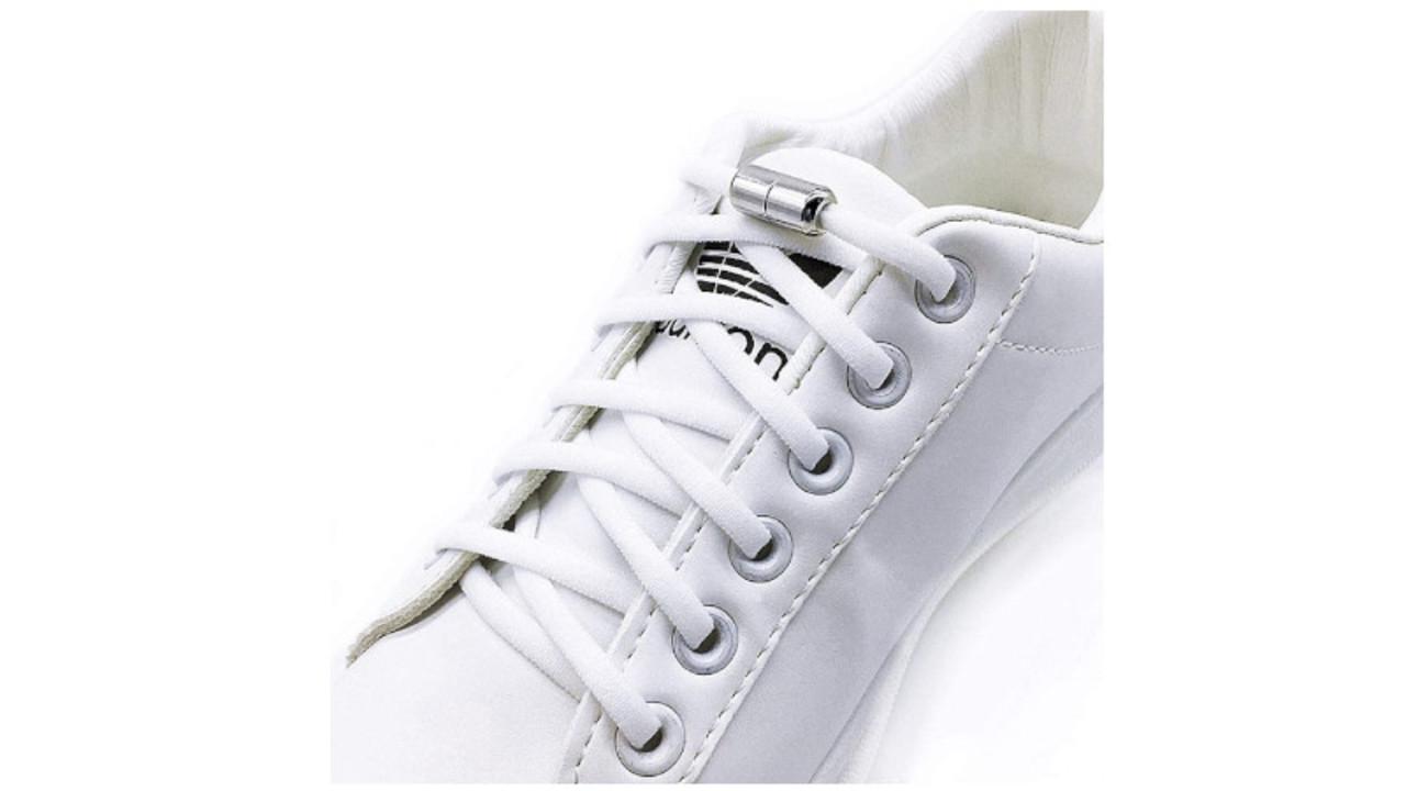 600円台で靴の脱ぎ履きが楽になる「結ばない靴ひも」