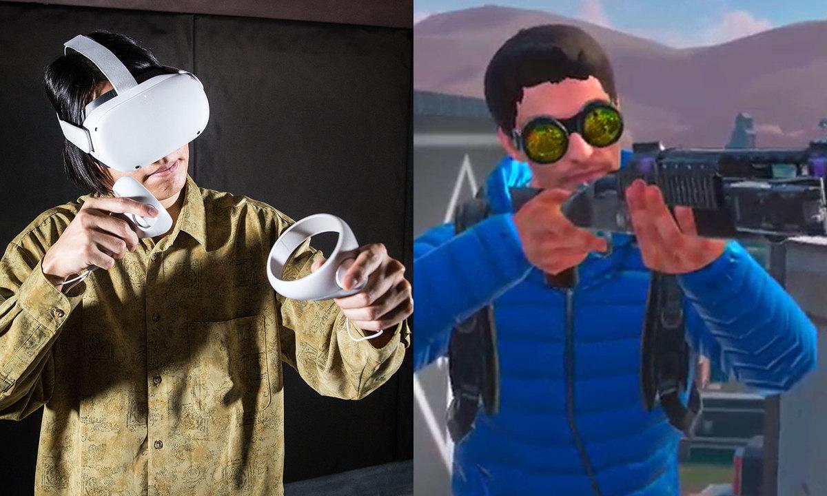 壁を登って空を飛んでバナナをむく。バトロワゲーム『POPULATION: ONE』+Oculus Quest 2は超リッチな「ごっこ遊び」