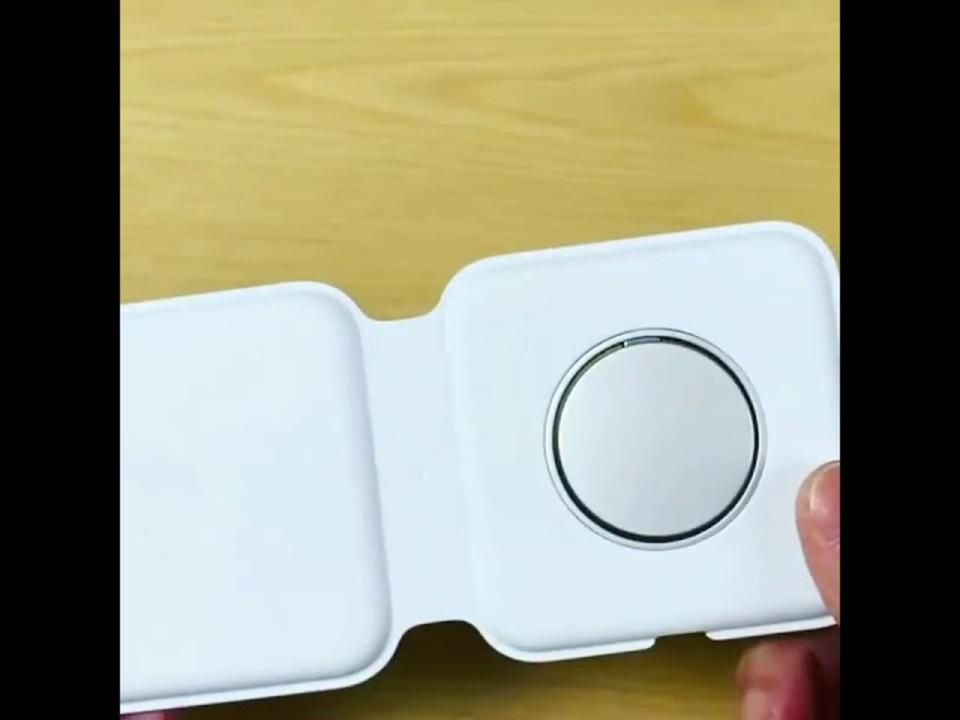 「MagSafeデュアル充電パッド」のハンズオン動画が公開。高いけど使い勝手良さそう