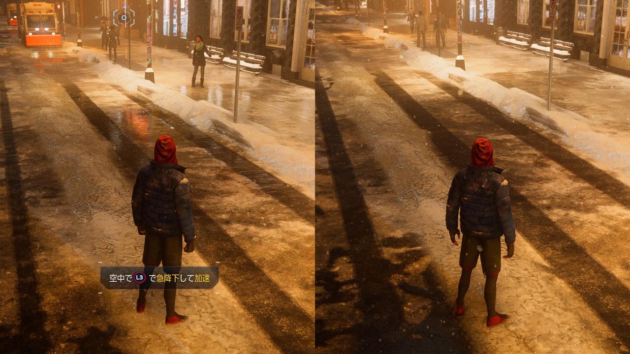 PS5、レイトレーシングの違いは…わかる、わかるぞ!