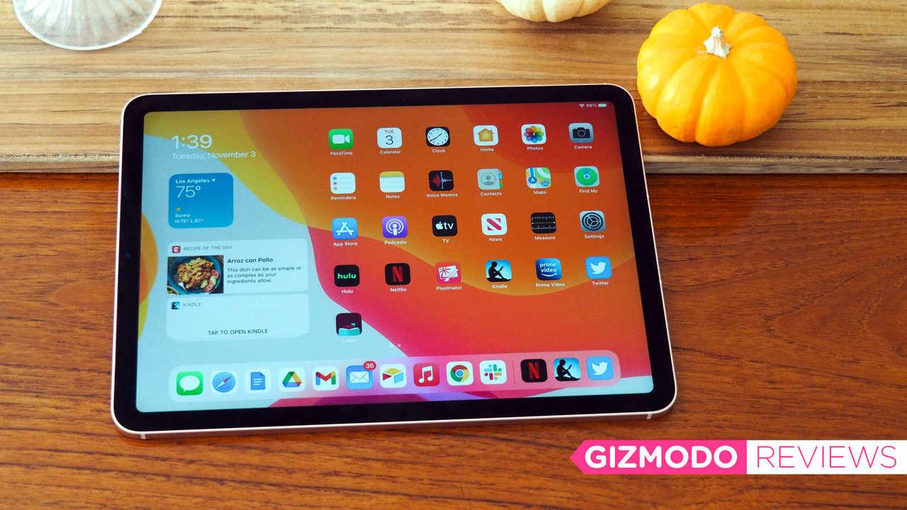 iPad Air(2020)レビュー:Proじゃなくてもいいならこれ!