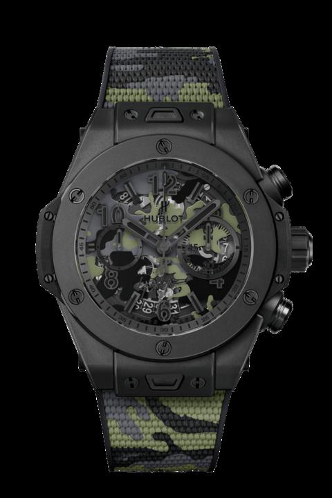 266万円! 高級腕時計のウブロが山本耀司とコラボしたカモフラ柄「ビッグ・バン」を発売