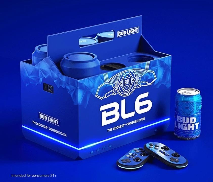 PS5とXbox Xに強敵?! まさかビールのBud Lightがゲーム機だしてきた…!
