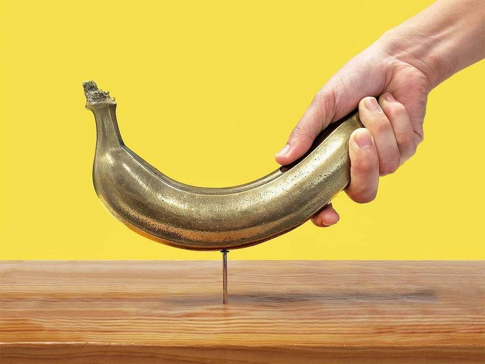 懐かCMが現実に。釘が打てるバナナが爆誕しちゃったよ