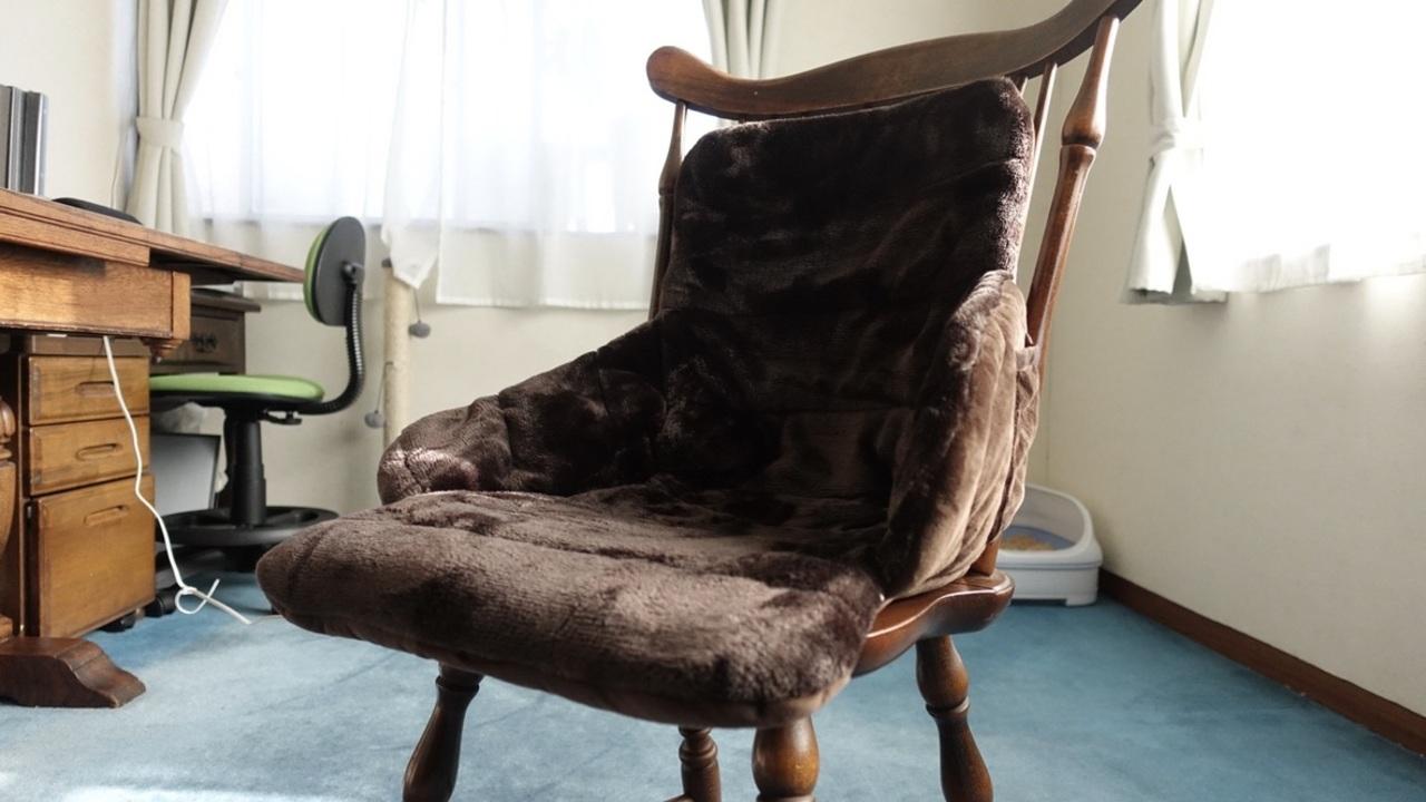 背中から太腿までを温めてくれる腰すっぽりヒーターを買ったら、仕事用の椅子がThroneになった
