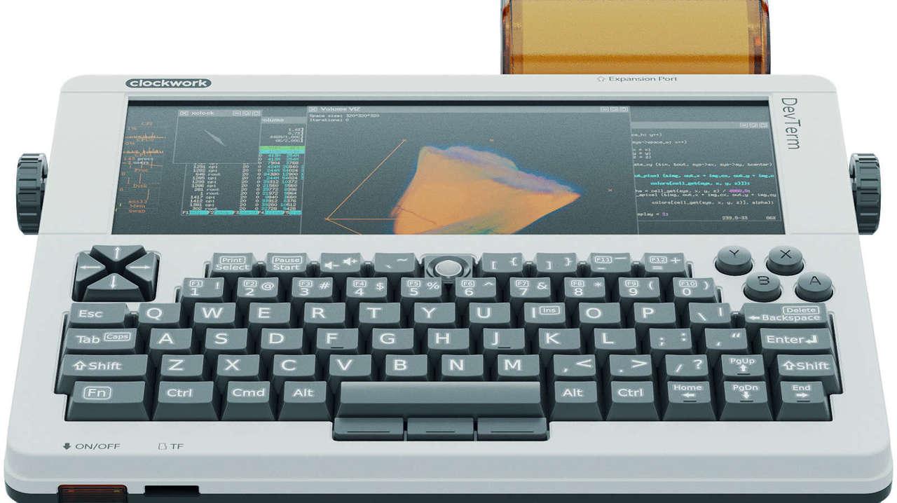 『ニューロマンサー』のオノ=センダイっぽい? A5サイズのスーパーコンパクトコンピューター