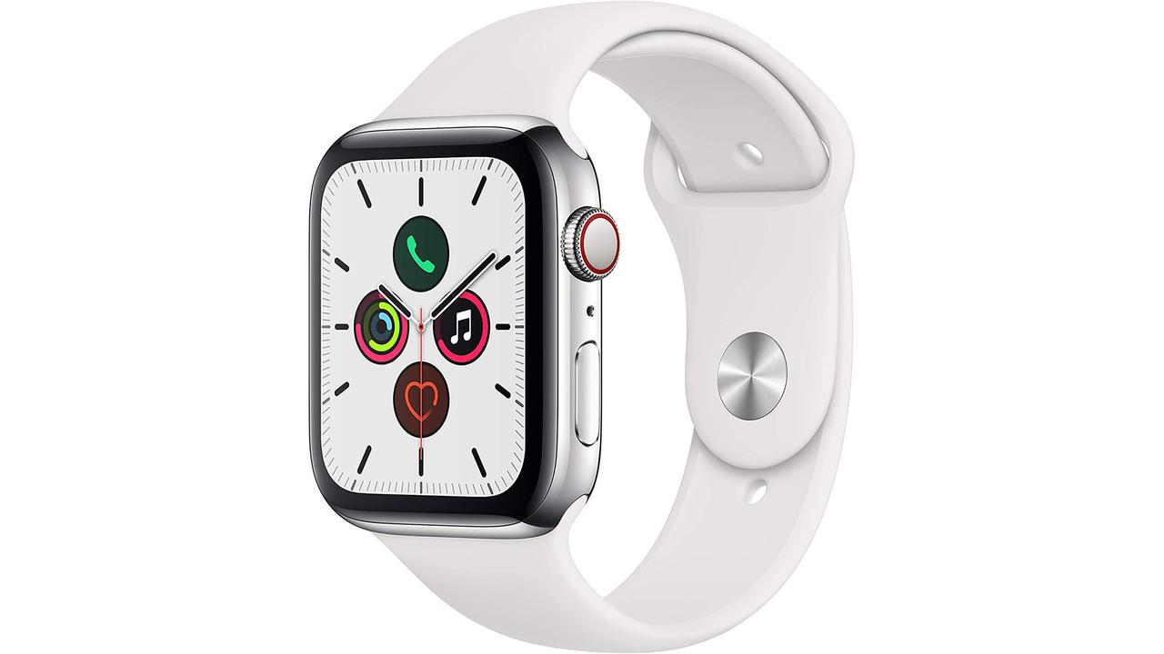 【Amazonブラックフライデー】Apple Watch Series 5(GPS+Cellularモデル)がセールで5万切ってるよ!