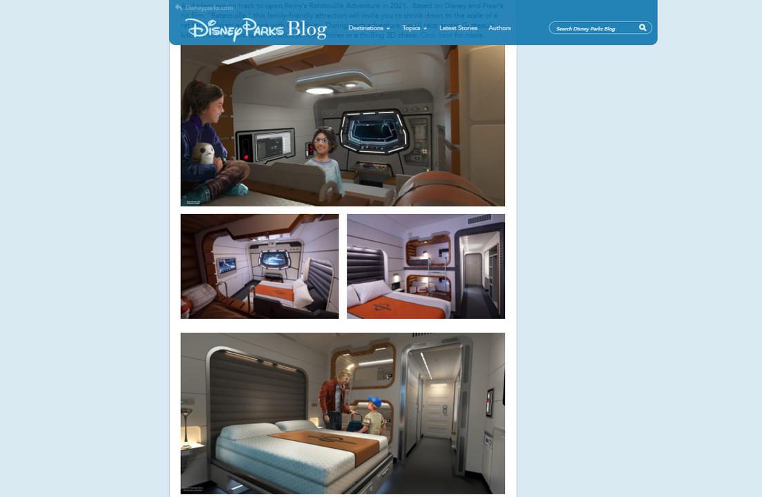 ディズニーリゾートでスター・ウォーズの宇宙船をテーマにしたホテルが公開。住ませろ!