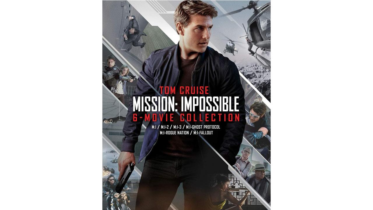 【Amazonサイバーマンデー】『ミッション・インポッシブル』6作+ボーナスディスク付が、半額の6,215円。この価格は今日中に自動的に消滅する