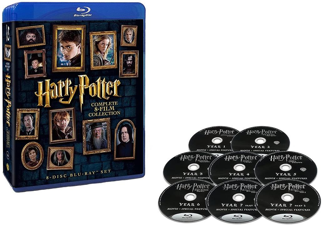 【Amazonサイバーマンデー】『ハリー・ポッター』Blu-rayがコンプで約4500円って、1枚600円以下…。えーーー⁉︎