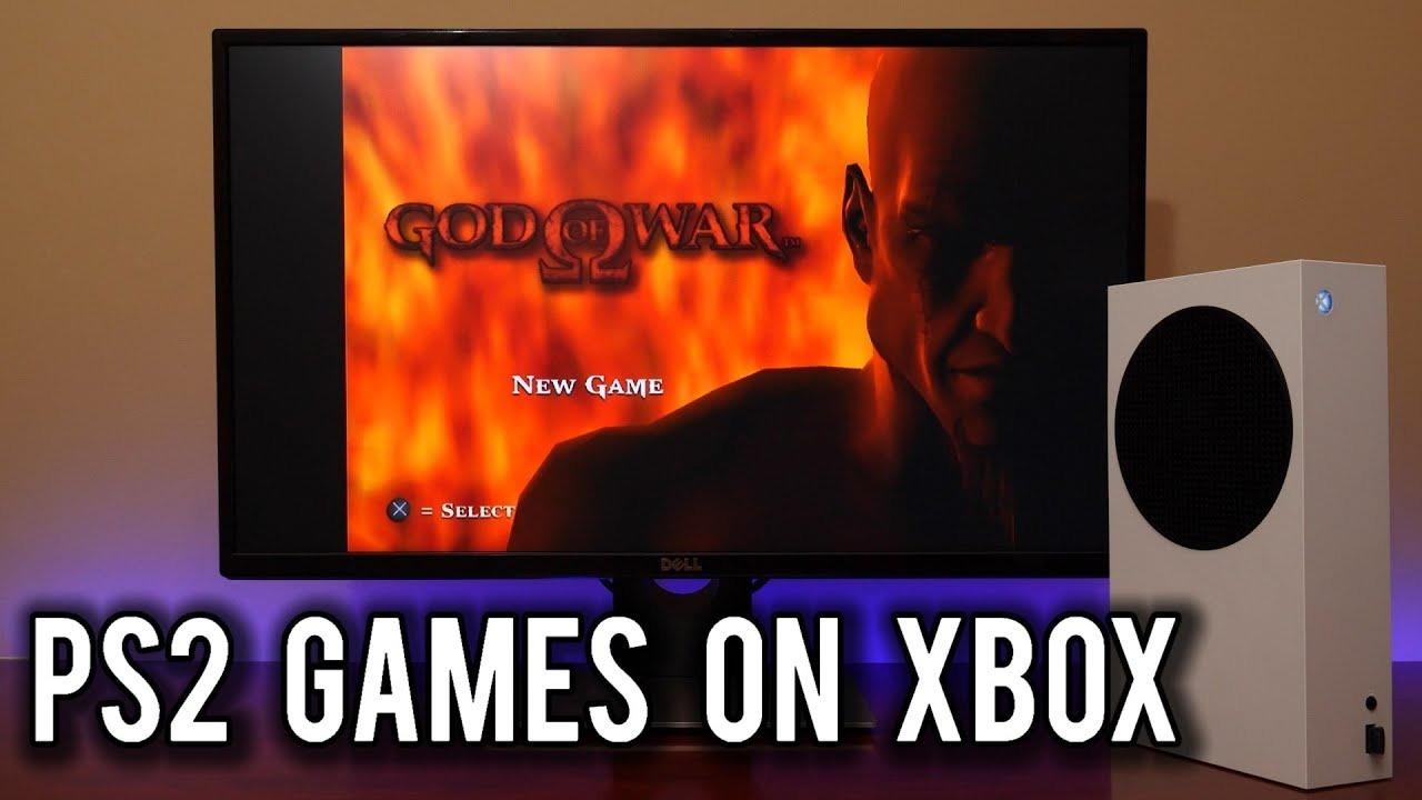 Xbox SX/SSでPS2ゲームがプレイできた…
