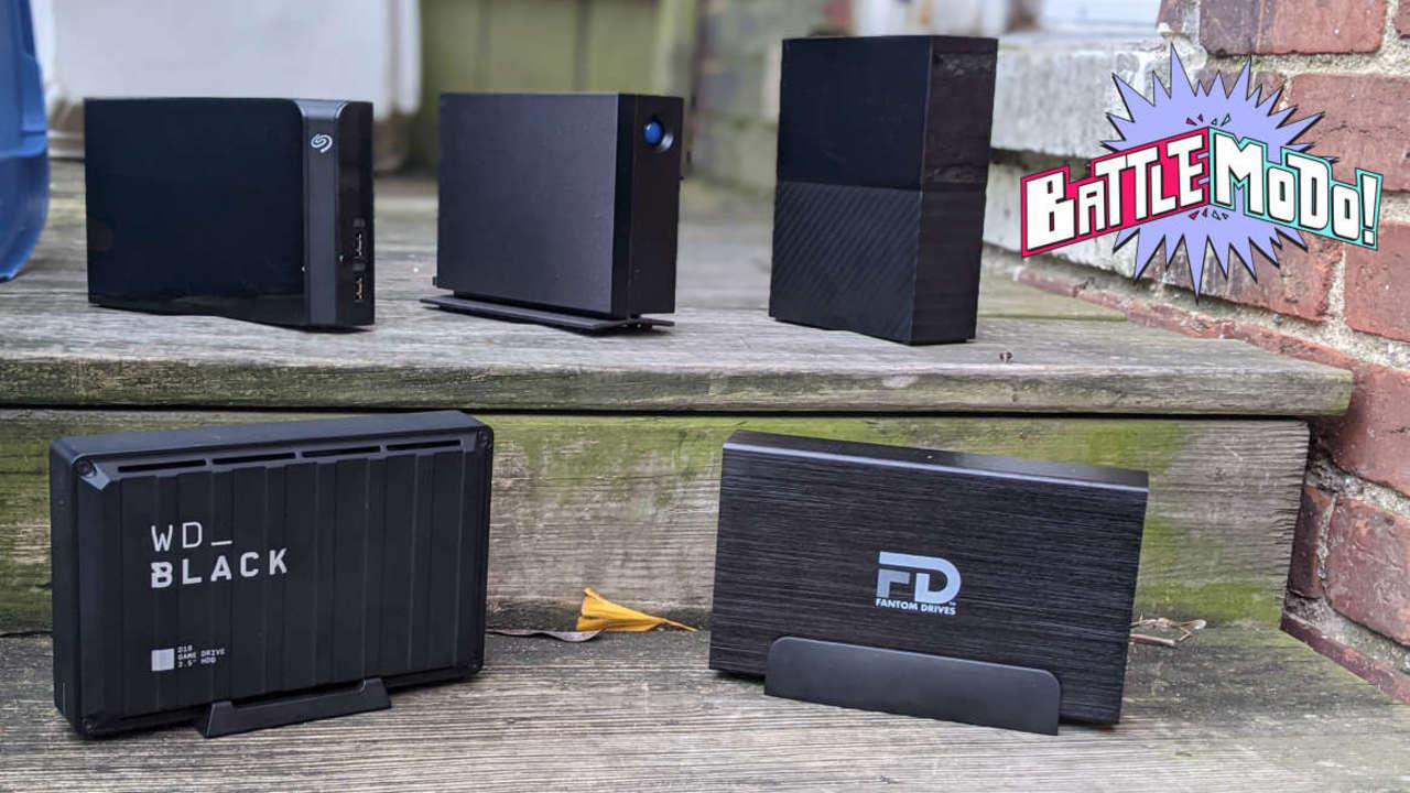 HDDは不滅です。最強の外付けHDD決定戦