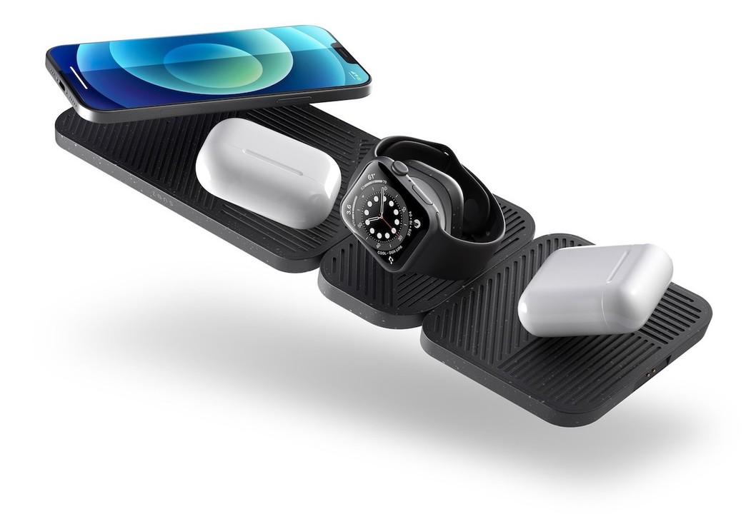 かさばる充電器をスマートに!Zensのモジュラー構造のワイヤレス充電マット