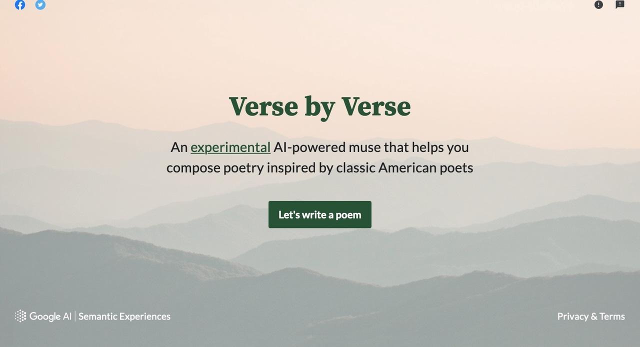 GoogleのAI詩人の作品、結構好きかも…