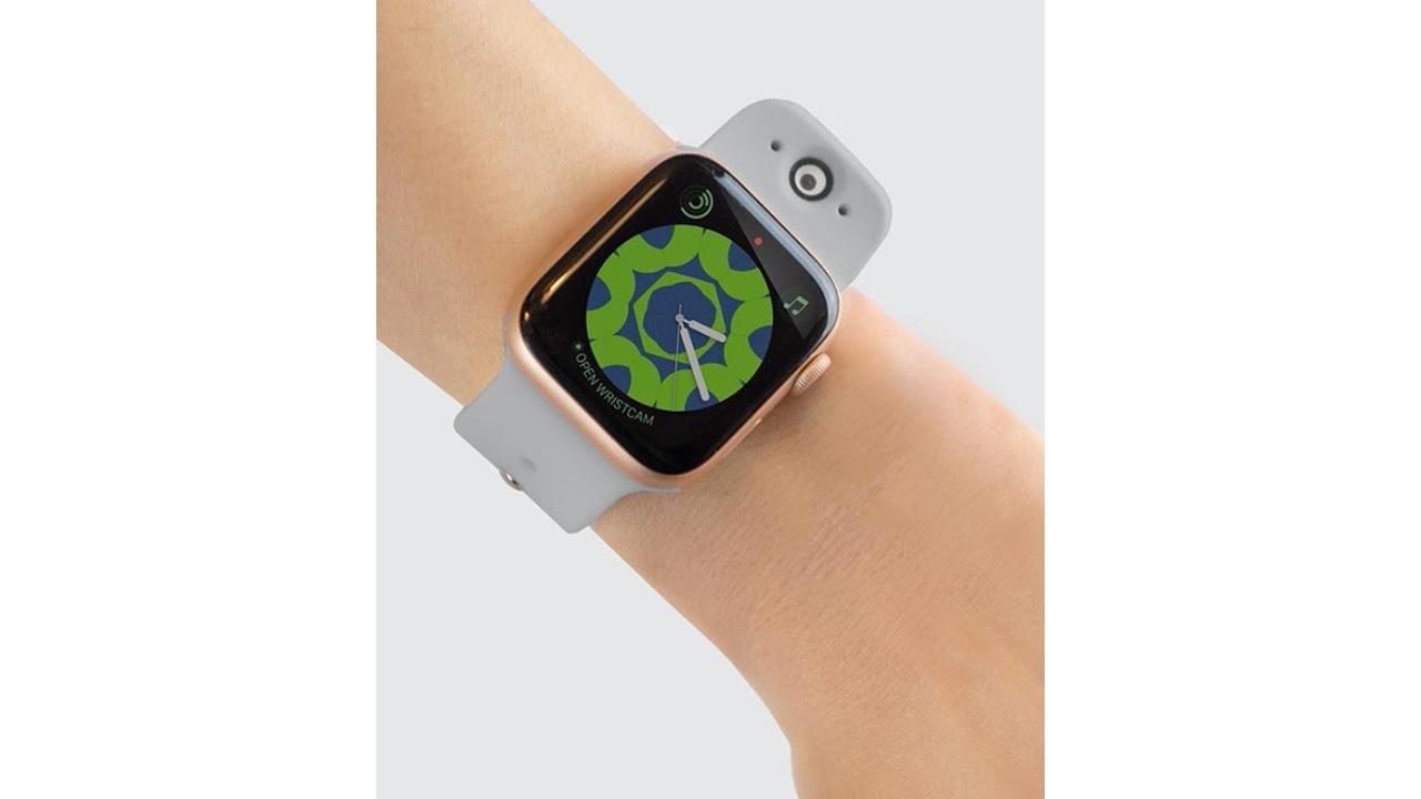Apple Watchにカメラをデュアル搭載! 手元でストリーミング配信まで可能にするアクセサリー「Wristcam」