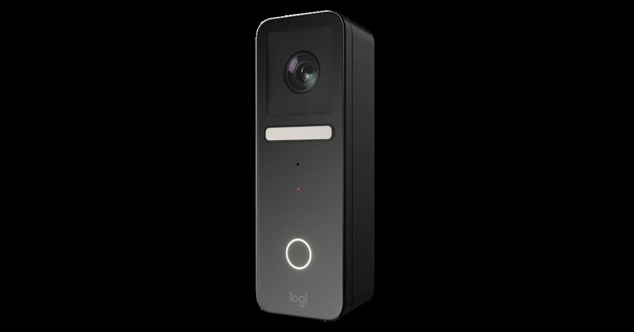 Apple HomeKitに対応するLogitechの顔認証ドアベル。iPhoneで来訪者と話せる