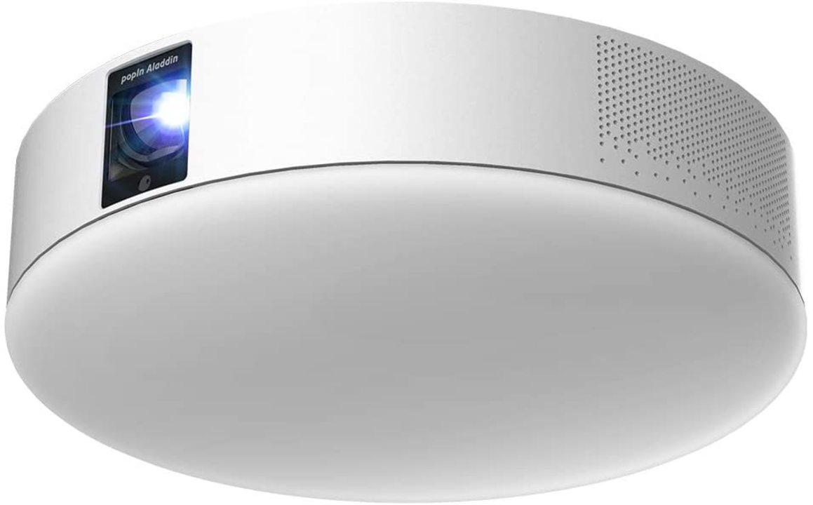 【Amazonセール】視聴環境アプデしない? 高評価のシーリング型プロジェクターが1万2000円オフだ!